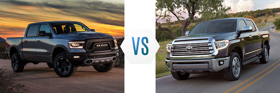 2019 All-New Ram 1500 vs Toyota Tundra