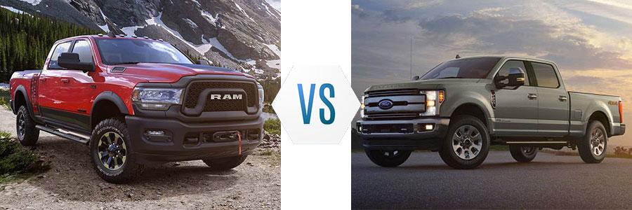 2019 Ram 2500 vs Ford F-250