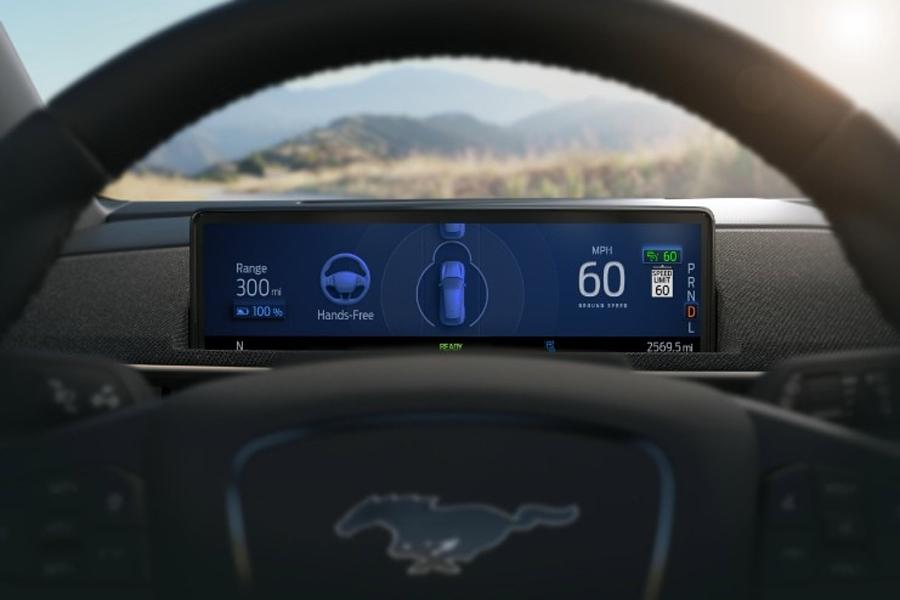 2021 Ford active Drive Assist HMI