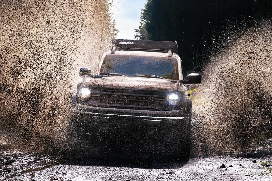 2021 Ford Bronco Mudding