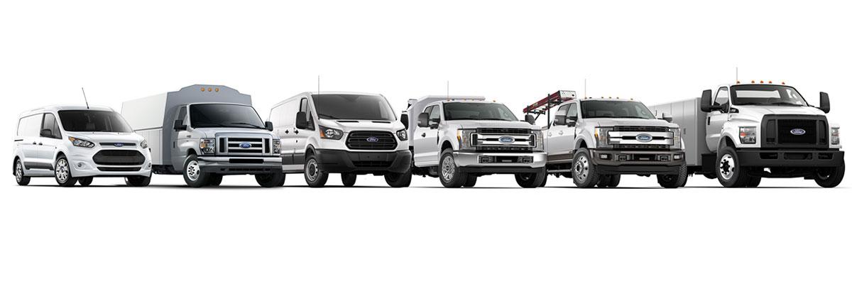 Ford Transit Van Lineup