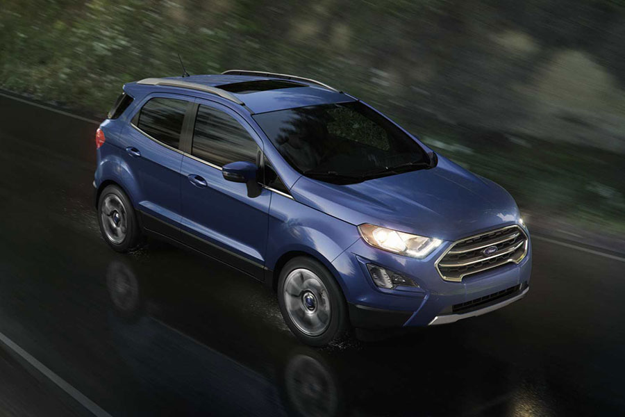 2018 Ford EcoSport on the Road