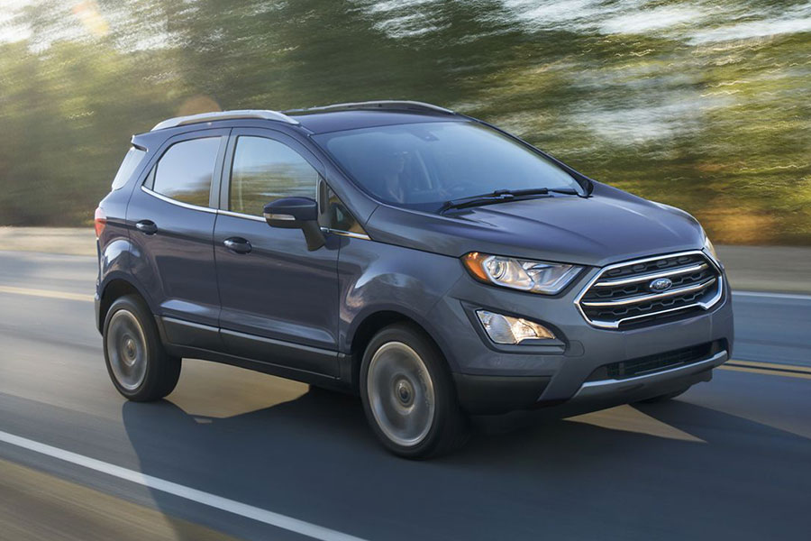 2019 Ford Ecosport on the Road
