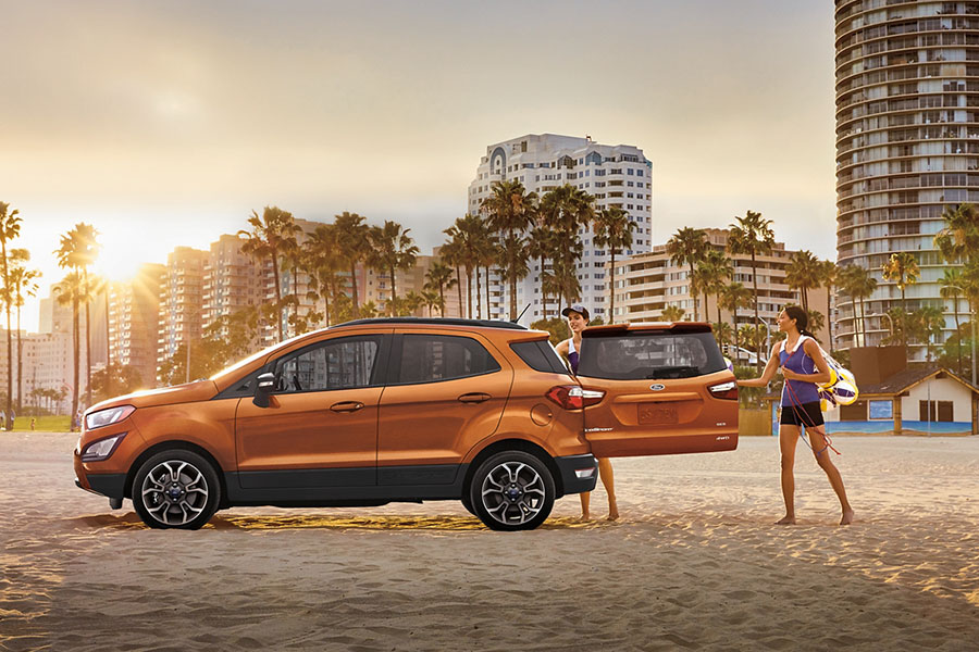2020 Ford EcoSport Towing