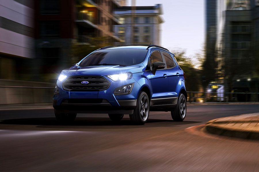 2020 Ford EcoSport on the Road