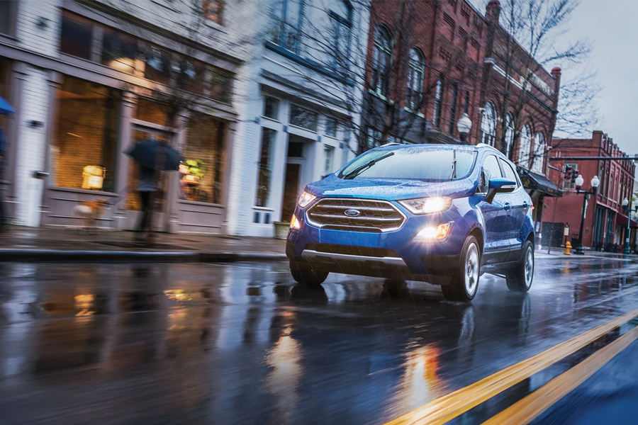 2021 Ford EcoSport on the Road