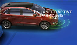2017 Ford Edge Enhanced Active Park Assist