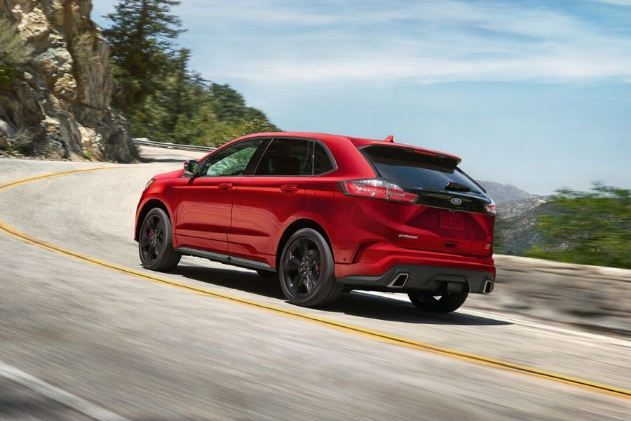 2020 Ford Edge on the Road