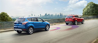2017 Ford Escape Forward Collision Warning