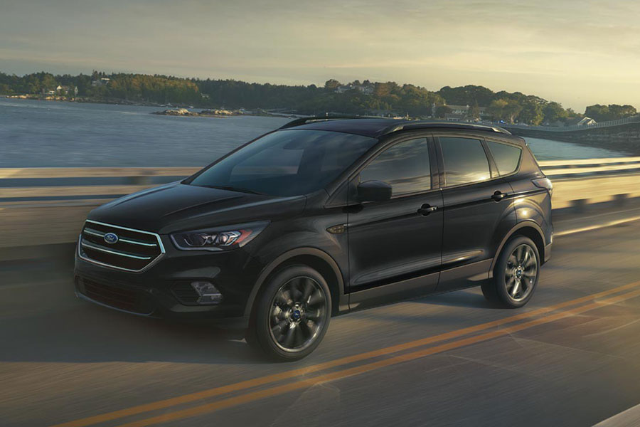 2018 Ford Escape on the Road