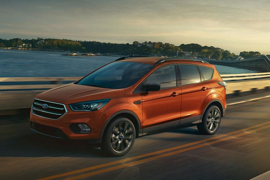 2019 Ford Escape on the Road