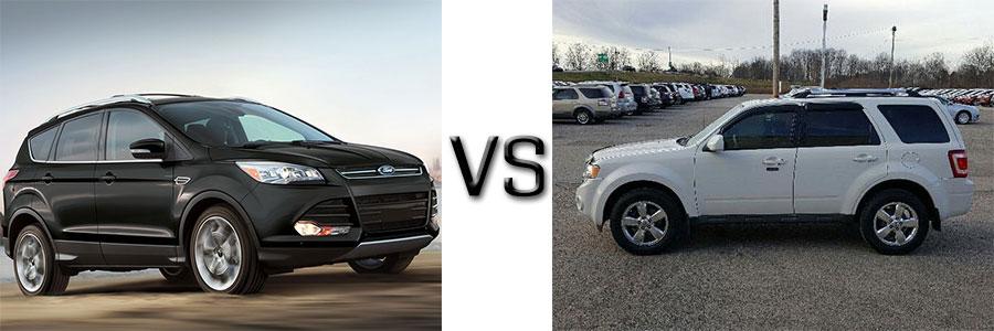 2016 Ford Escape vs 2010 Escape
