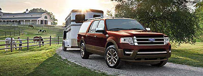 2017 Ford Expedition 9,200 lbs. Max Towing