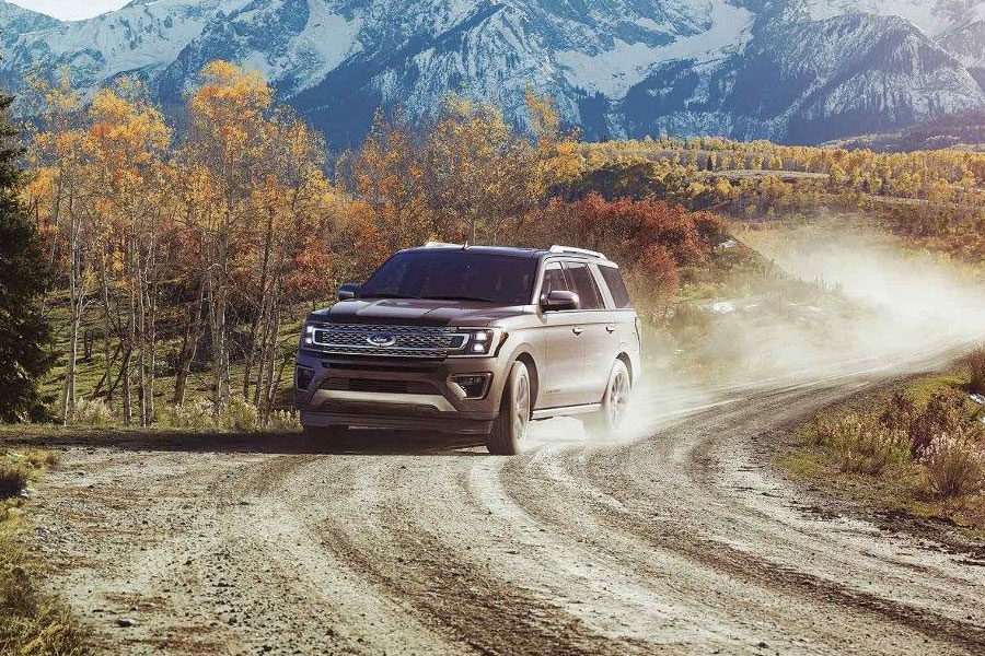 2018 Ford Expedition on the Road