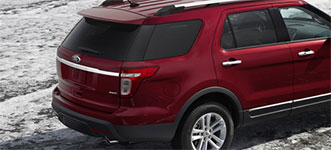 Used 2015 Ford Explorer Strong and Lightweight Structure