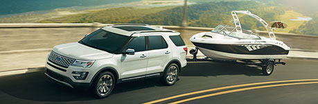 2017 Ford Explorer 5,000 lbs. Max Towing