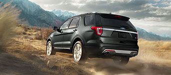 2017 Ford Explorer Intelligent Four-Wheel Drive