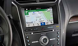 2017 Ford Explorer Navigation with SiriusXM Traffic