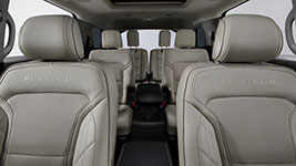 2017 Ford Explorer Seating for Seven