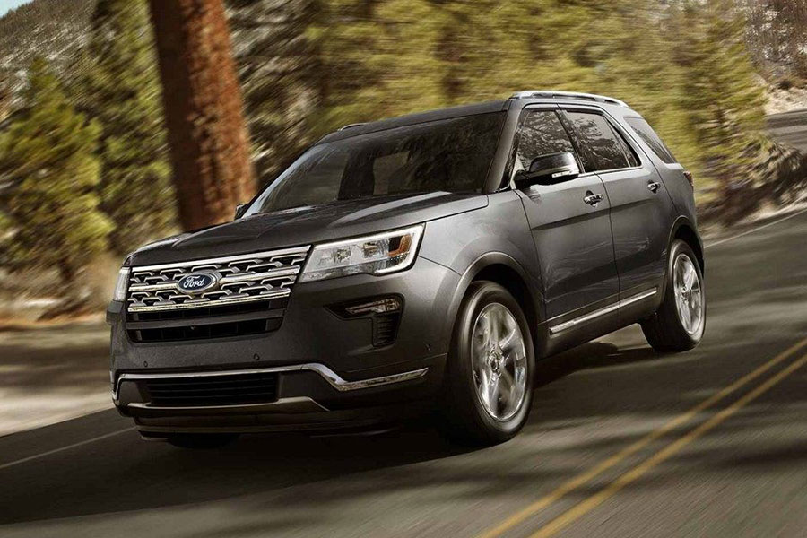 2018 Ford Explorer On the Road