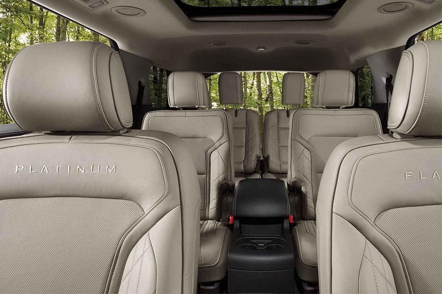2019 Ford Explorer Interior Passenger Space