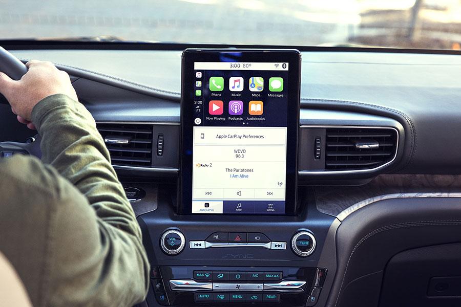 2020 Ford Explorer Technology