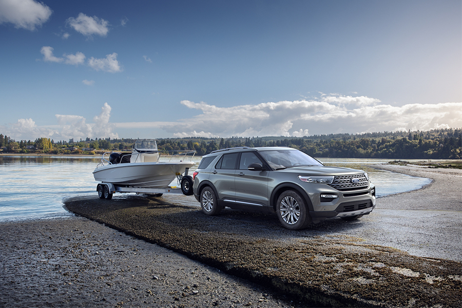 2020 Ford Explorer Towing
