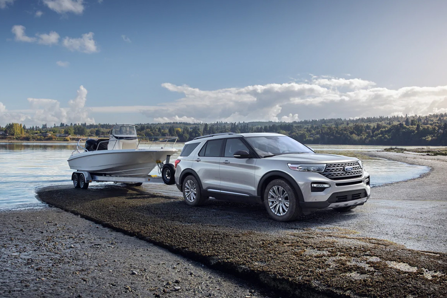 2021 Ford Explorer Towing