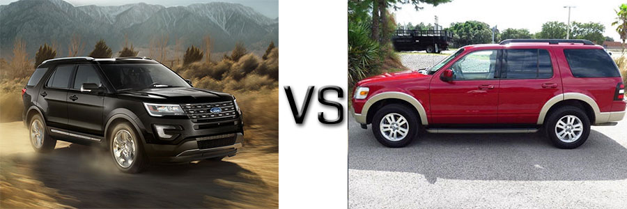 2016 Ford Explorer Vs 2010 Explorer Lafayette Ford Lincoln