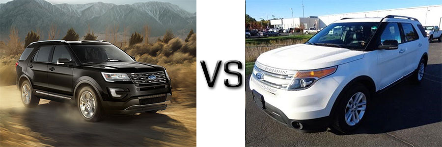 2016 Ford Explorer Vs 2012 Explorer