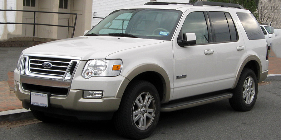 Used Ford Explorer Gen 3