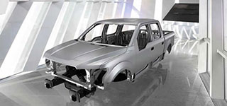2016 Ford F-150 Aluminum-Alloy Body and Steel Frame
