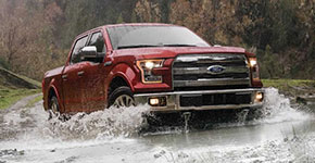 2016 Ford F-150 Rugged Off-Road Capabilities