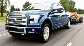2017 Ford F-150 Best-in-Class Towing