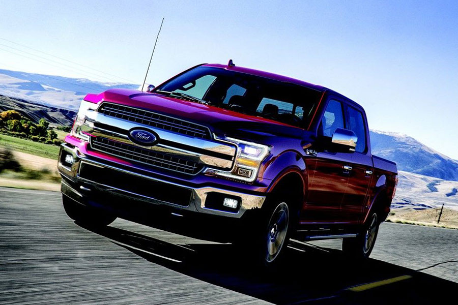 2018 Ford F-150 on the Road
