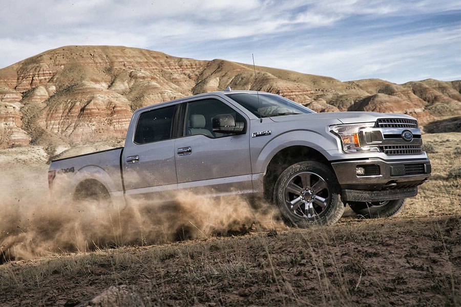 2019 Ford F-150 Rugged on the Road