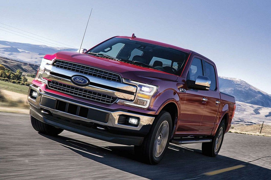 2019 Ford F-150 on the Road