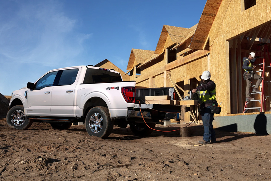 2021 Ford F-150 Bed