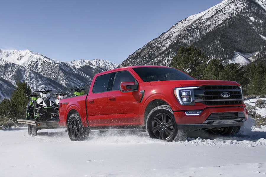 2021 Ford F-150 Off Roading