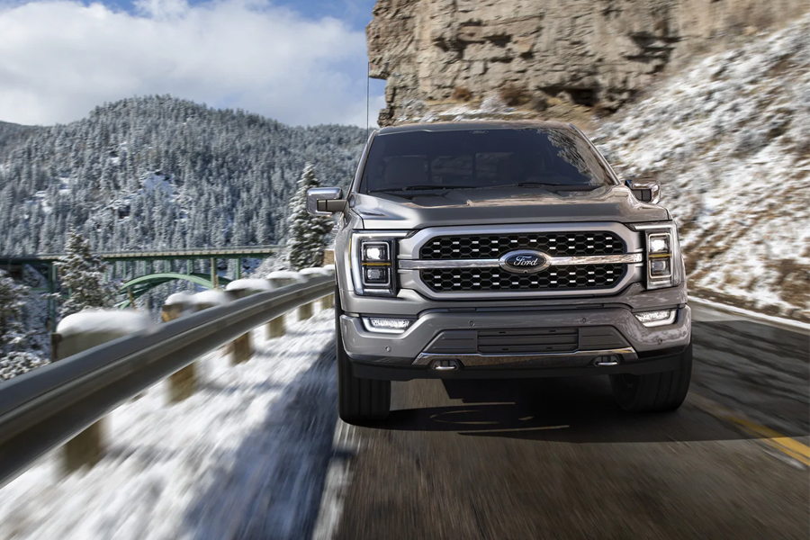 2021 Ford F-150 on the Road