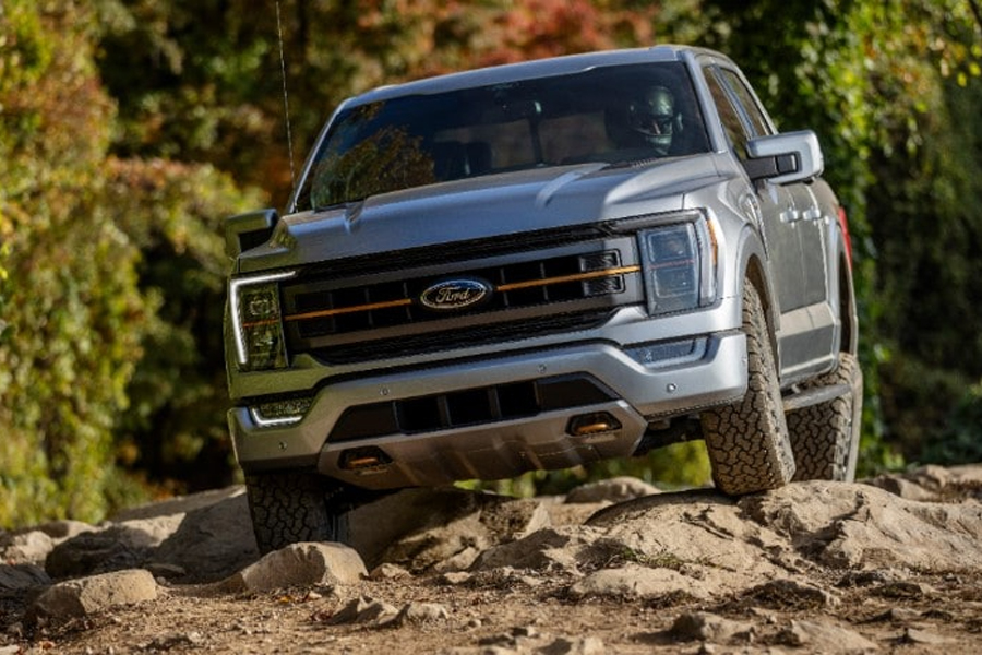 2021 Ford F-150 Tremor Rock Crawl