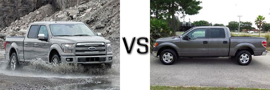 2016 Ford F-150 vs 2010 F-150