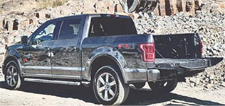 2015 Ford F-150 King Ranch Remote Tailgate Release