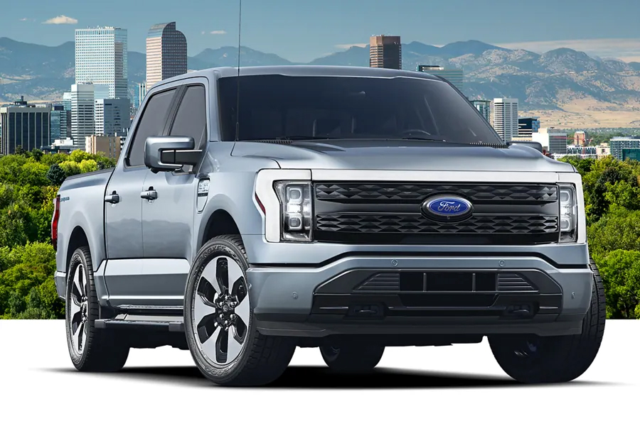 Ford F-150 Lightning on the Road
