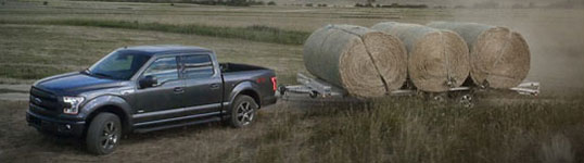 Used 2015 Ford F-150 SuperCrew Best-in-Class Towing