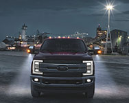 2017 Ford F-250 Super Duty Halogen Lighting