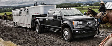 2017 Ford F-250 Super Duty Best-In-Class Conventional Towing