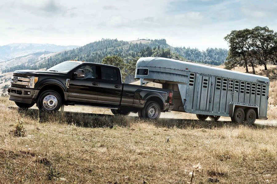 2018 Ford F-250 Towing