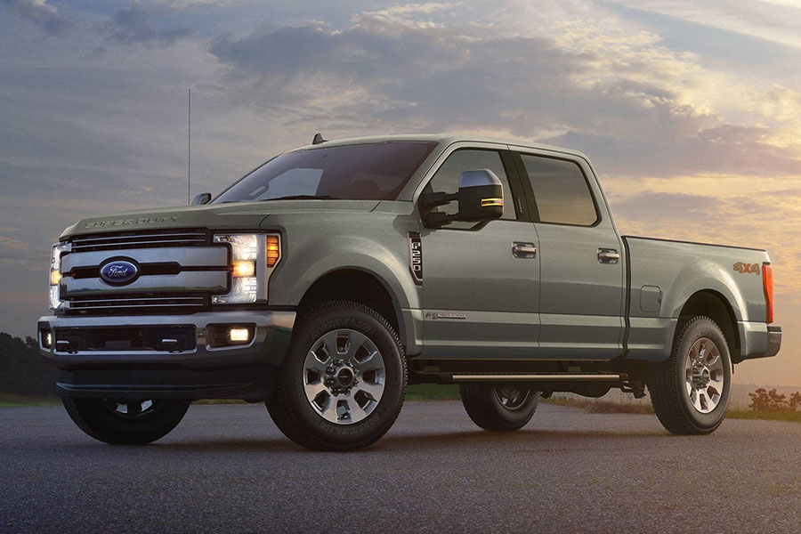 2019 Ford F-250 on the Road