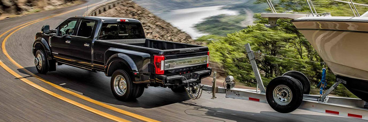 2019 Ford F-250 Platinum Towing